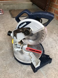 "Mastercraft 8 1/4"" compound mitre saw Uxbridge, L9P 1L7"