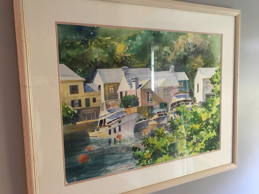 Used Gorgeous original watercolor from noted Bermuda