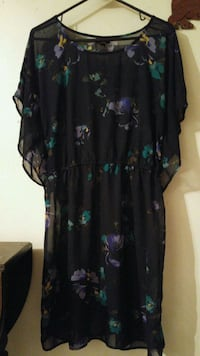 Mossimo sheer floral dress /xl Hagerstown