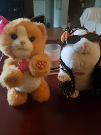 orange cat and guinea pig plush toys Ontario, P3A 2K5