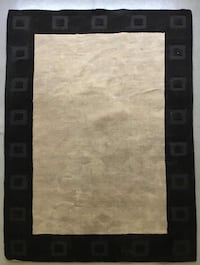 Moving Sale 75% OFF Deal!;Rug handloomed 100% wool. Cash ONLY.  McLean, 22101