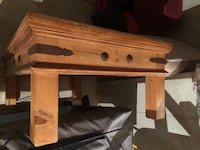All wood coffee table Keedysville