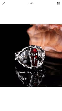 Coffin and skull ring(reduced) Beech Island, 29842
