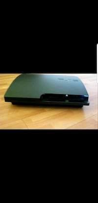 black Sony PS3 slim console  Wakefield, 01880