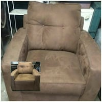 brown suede sofa chair collage Inglewood, 90303