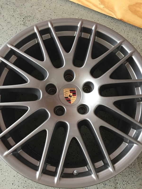 Used Wheels For Sale >> Used Porsche Cayenne Wheels For Sale In Dallas Letgo
