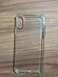 Thin clear iPhone X/Xs case Burke, 22015