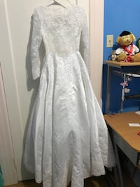 Brand new petite wedding dress