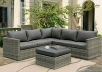 New outdoor resin lawn wicker patio sectional furn Chula Vista, 91913