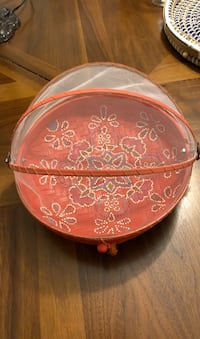Mesh-covered painted serving tray Fairfax, 22030