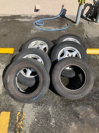 For Sale: Michelin Tires with Rims 215/70R15 Vancouver, V6P