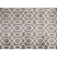 5x7 brand new rug gray and off-white/cream Liverpool, 13090