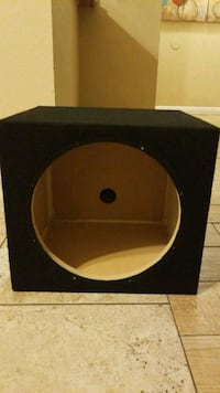 12in black subwoofer enclosure Santa Ana, 92704