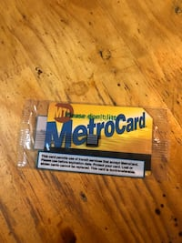 $66.00 dollars metro card.  New York, 10031