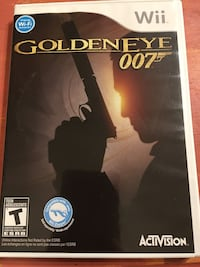 Nintendo Wii Golden Eye 007 Game