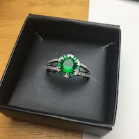 Ring Size 9 green gem Edmonton, T6H