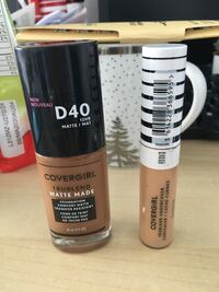Covergirl foundation and concealer