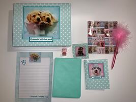 Puppy Stationary Set with Box