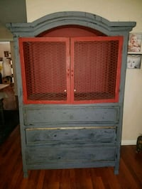 Refinished Hutch/Armoire