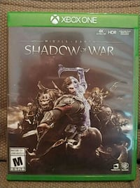 Middle Earth Shadow of Mordor Xbox One Toronto, M6S 2Z5