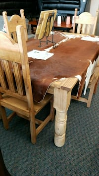 Large wooden marbletop table 1134 mi