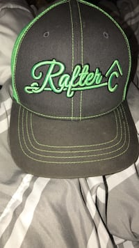 black and green Ralter C embroidered cap Florence, 39073