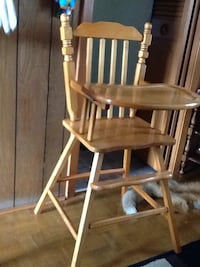brown wooden windsor rocking chair London, N6P 1B6