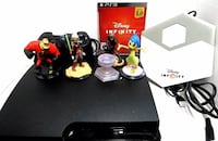 Sony Playstation 3 PS3 Slim 160GB + Controller + All Cords + Disney Infinity Game and Figures 2394 mi