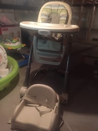 Graco Blossom 4 in 1 chair  New Westminster, V3M 6X3