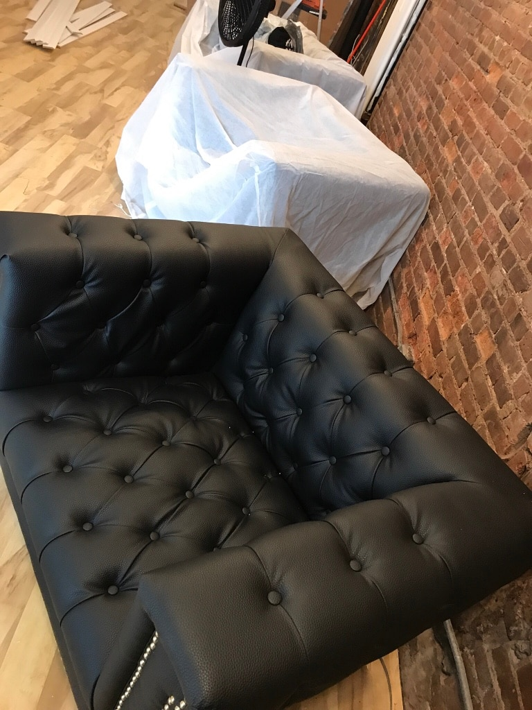 Oversized Tufted Chairs (3 Available)