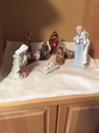 Ceramic Nativity Scene ( Rock bottom price) Kitchener, N2K 4J9