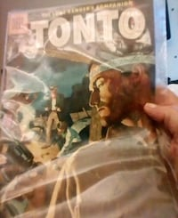 Tonto comic book in protective sleeve Danvers, 01923