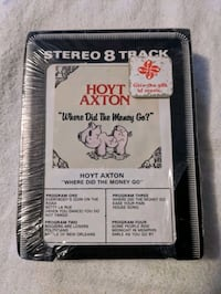 Vintage Retro Hoyt Axton Where Did The Money Go 8 Track Tape JH-5001