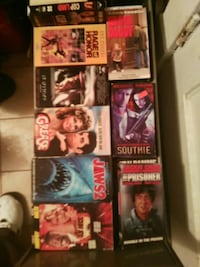 VHS movie all kinds asking 1.50 each St. Catharines, L2R 3W8