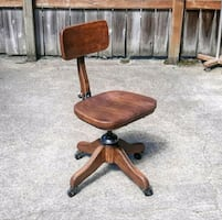 Refurbished Antique Office Chair