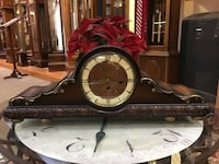 Large size German Mantel Clock-Working Condition