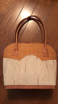 Wicker style purse handbag tote  London, N6L