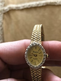 VINTAGE LUCAS PICARD DIAMOND WATCH