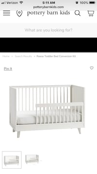 Pottery Barn Crib with Toddler Conversion Aldie, 20105