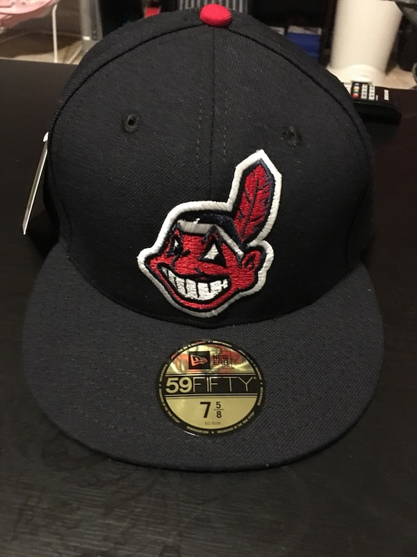 110e6d208b7cf Used 7 5 8 New Era Retro Classic collection Cleveland Indians Fitted Cap  for sale in Los Angeles - letgo