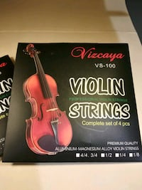New Violin Strings Washington, 20019