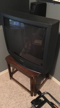 black CRT TV Coquitlam, V3E 3N2