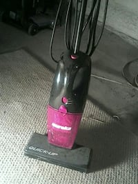 black and red upright vacuum cleaner Coloma, 49038