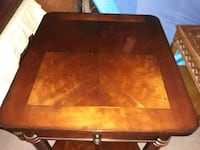 End table with drawer.