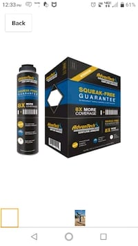 advantech subfloor adhesive with 2 cans of foam cleaner Manchester, 03104