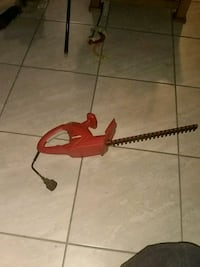 red and black hedge trimmer Las Vegas, 89101