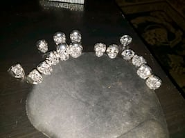 Skull rings and watches