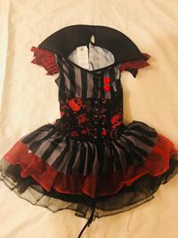 Pirate size 4-6 kids  Brentwood, 94513