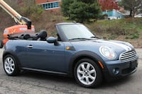 2009 mini cooper convertible 86k miles manual clean carfax lthr inspd