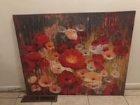 brown and red flowers painting Springfield, 65804